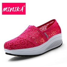 Summer Walking Shoes Women Outdoor Shoes For Ladies Super Breathable Female Sneakers Comfortable Non Slip Shoe #B2549