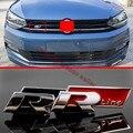 Parrilla de Metal R Line 3D Tronco Divisa Del Emblema de la Etiqueta Engomada Para El VW Volkswagen
