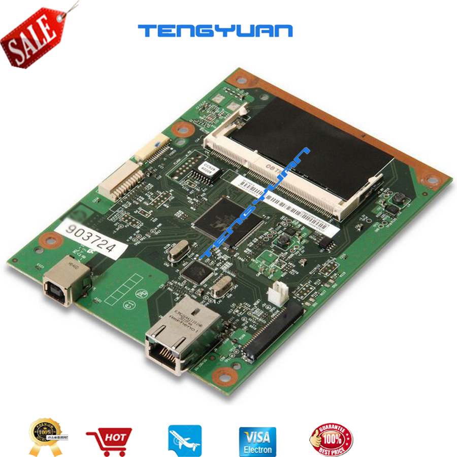 Free shipping 100% test for HP P2055DN 2055dn Formatter Board CC528-60001 logic board printer parts on sale officejet parts laserjet printer for hp 2055dn motherboard logic board used pre tested high quality in store