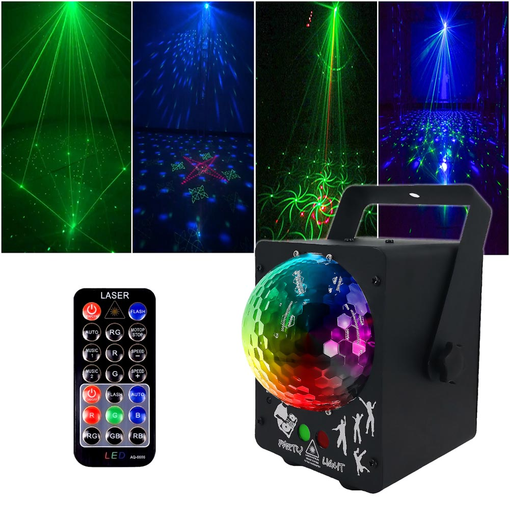 60 modèles boule magique LED Lasers lumière scène KTV Bar Flash coloré vacances lumières CLH @ 8