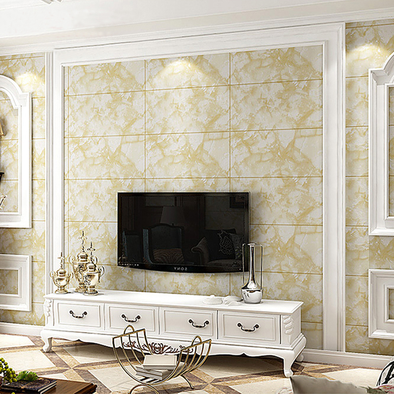 Modern Minimalist Marble Tiles Striped Wallpaper Bedroom Living Room TV Backdrop Wallpaper PVC Waterproof Hotel Luxury 3D Tapety book knowledge power channel creative 3d large mural wallpaper 3d bedroom living room tv backdrop painting wallpaper