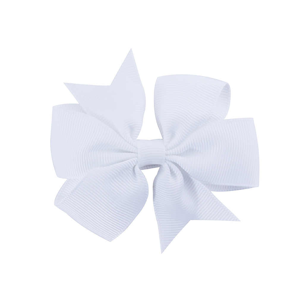 3 インチ卸売新 Cnhbw-蝶弓のヘアピンヘアクリップ子供キッズガール新生児ヘアアクセサリー