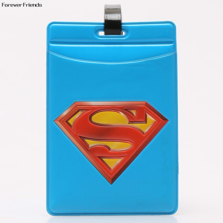 PVC World architecture fashion personality baggage claim luggage tags,Bag Parts & Accessories for Travel ,Superman logo architecture today