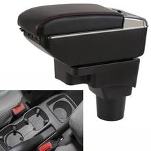 Автомобильный подлокотник магазине Содержание коробка для хранения с USB для Chevrolet Aveo Соник Холден barina 2011 2012 2013 2014 2015 2016 2017