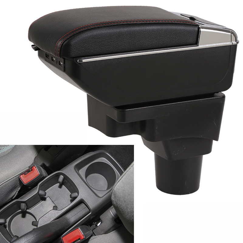 Car Armrest Central Store Content Storage Box with USB For chevrolet aveo Sonic Holden Barina 2011 2012 2013 2014 2015 2016 2017 universal leather car armrest central store content storage box with cup holder center console armrests free shipping