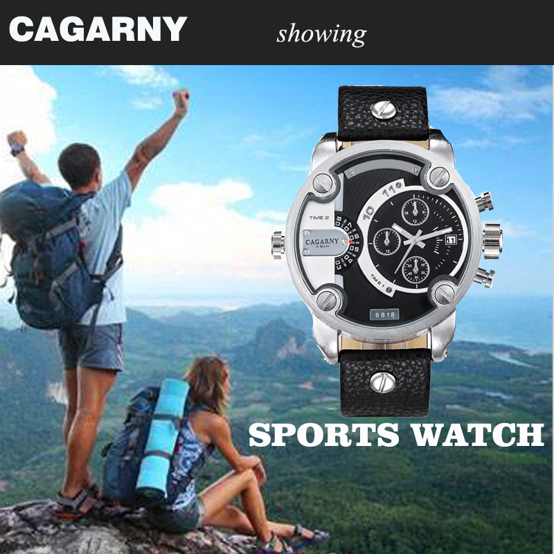 cagarny dz style quartz watch men golden mens watches (99)