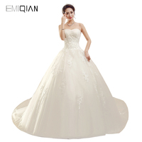 Freeshipping Real Pictures A Line Sweetheart Applique Tulle Bride Wedding Dress