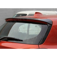 Rear Spoiler For BMW 1 Series F20 116i 118i 120i 125i 135i 2012 2018 P style Carbon Fiber Rear Roof Spoiler Window wings