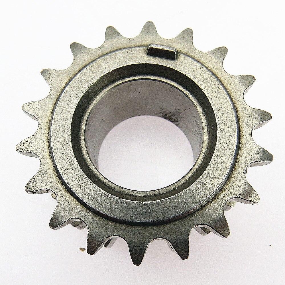 DOXA 1Pcs 1.4 T Engine 18 Teeth Car Crankcase Chain Aluminum Alloy Drive Gear For VW Jetta Tiguan EOS VW Golf 03C 105 209 AQ