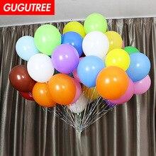 купить Decoration 100pcs 12inch colour mixture latex balloons wedding event christmas halloween festival birthday party HY-376 дешево
