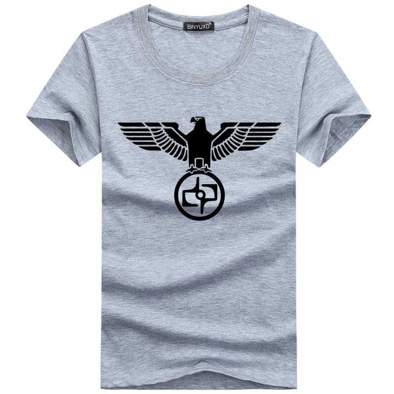 Summer Casual Men's T-Shirt Funny Print Legionnaire Eagle T-Shirt Brand Fashion T Shirt  Men Short-Sleeve Top Tee Shirt Homme