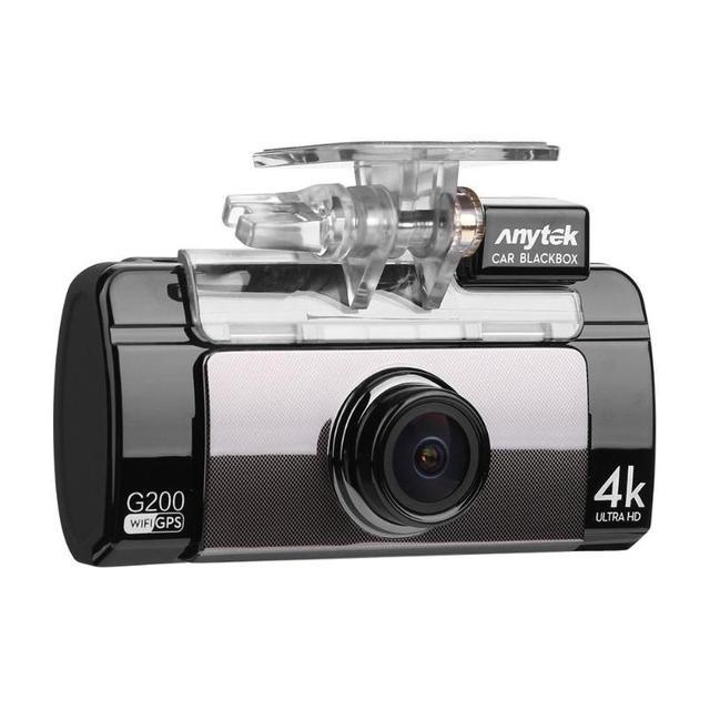 "Anytek G200 2.7"" IPS Touch Screen 4K UHD WiFi Car DVR Camera Dual Lens GPS Logger Video Recorder Night Vision G-sensor Dash Cam"