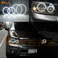 For FORD ESCAPE 2005 2006 2007 Excellent led angel eyes Ultra bright illumination smd led Angel Eyes kit DRL