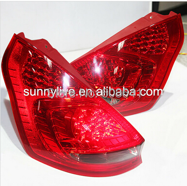 For FORD Fiesta LED Head Lamps SONAR Style 2009-2012