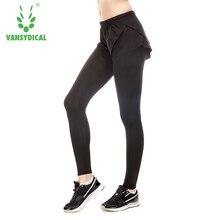Women sports pants Elastic waistband Yoga pants 2 i