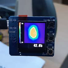 AMG8833 IR 8x8 Resolution Infrared Thermal Imager Array Temperature Sensor Module Development