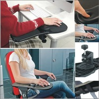 Arm Care Mouse Pad Rotation Computer Desktop Laptop Mouse Tray Elbow Pad Wrist Rest Plate Support
