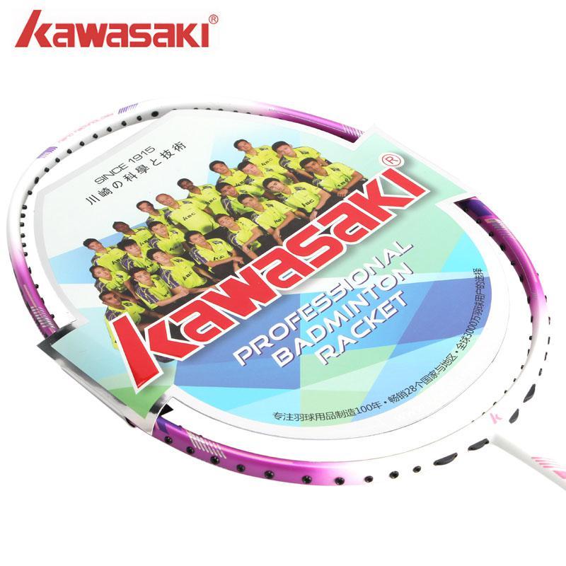 Badminton 75g Schlägersportarten Kawasaki 6u Super Licht 5800 Badminton Schläger Carbon Faser Schläger Für Männer Und Frauen Mit String Badminton Schläger Auswahlmaterialien