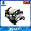 Barato compatível bulbo da lâmpada do projetor CP-A100 CP-A101 CP-A100J ED-A100 DT00891 para CP-A100 CP-A101 ED-ED-A100 a110 ED-A100J...