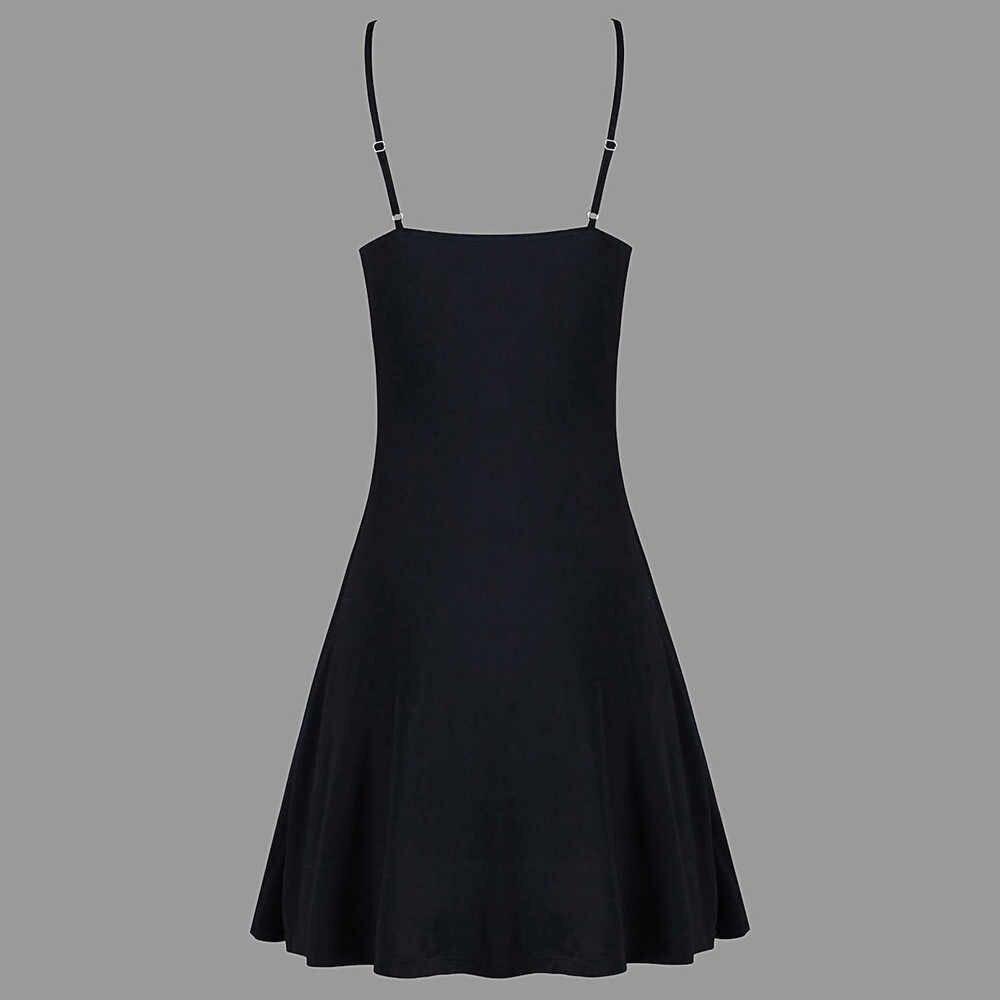 JAYCOSIN 2019 новое летнее женское платье сексуальная мода вязание крючком одноцветное кружево спинки А-силуэта мини скользящий Топ Без Рукавов 9030511
