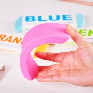 Image 5 - [M & G] Candy Farbe Kawaii Schule Liefert Bleistift Radiergummis Niedlich Super Großen Radiergummi 4 Farben Koreanische schreibwaren AXP96453