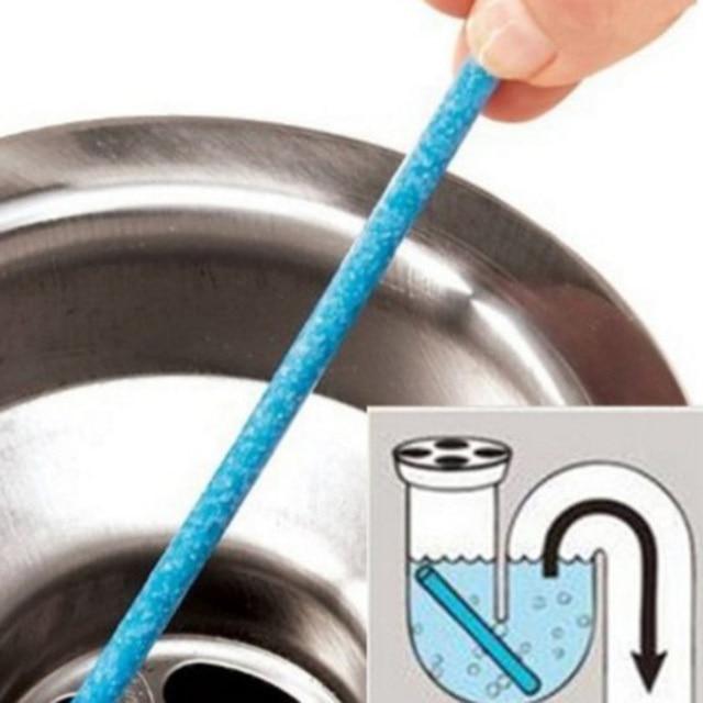 12 pz/borsa Cucina Wc Pulizia Vasca Fogna Pipeline e Deodorante Unscented Mare D