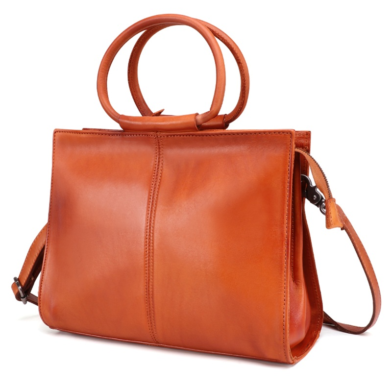 Здесь можно купить  100% Genuine Leather Women Bags Luxury Unique Design Lady Handbags Large Capacity Female Shoulder Bags Vintage Casual Tote  Камера и Сумки