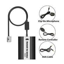 Apps2car Bluetooth Hands Free адаптер Беспроводной Телефонный звонок автомобиля Встроенный USB разъем AUX Интерфейс для Peugeot 407 (2005 и после)