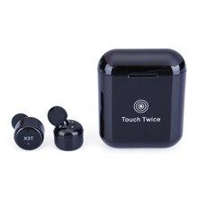 2018 TWS X3T беспроводные наушники Bluetooth 4,2 гарнитура wtih зарядное устройство коробка Bass X1t X2T модернизированная для iPhone Samsung Бесплатная доставка
