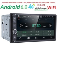 7 HD Bluetooth Touch Screen Car Stereo Radio 2 DIN FM MP5 MP3 USB AUX Player