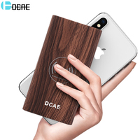 Original HOCO Power Bank 10000mAh LCD Dual USB Polymer External Battery Portable Charger Powerbank For Iphone