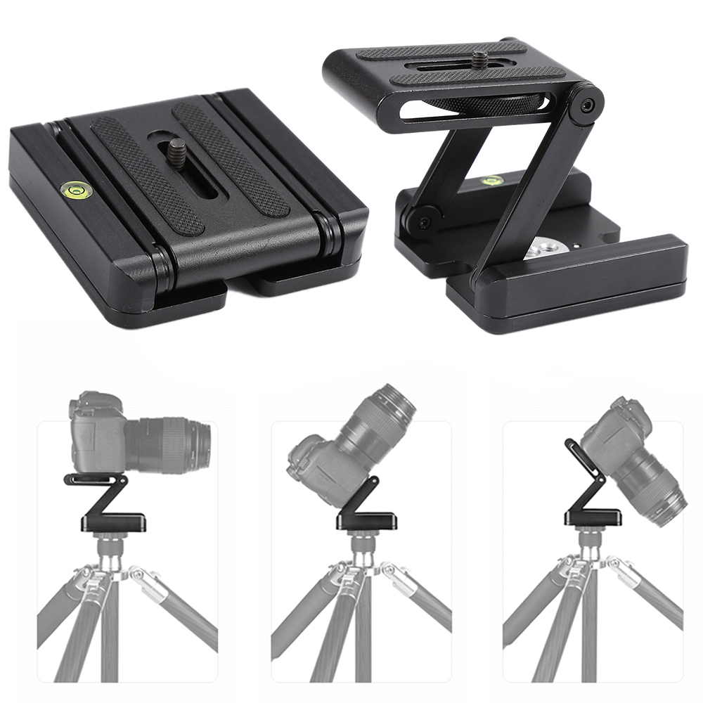 New Camera Tripod Head Solution Photography Studio Camera Flex folding Z pan Flex Multi angle Folding