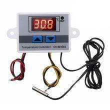 XH-W3001-controlador de temperatura Digital LED W3001, CA 220V, termómetro, controlador térmico, interruptor de sonda Max 10A NTC10K