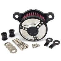 دراجة نارية الهواء منظف المرشّح كمية تصفية نظام عدة دراجة نارية ل سبورتستر Xl883 Xl1200 1992 1993 2016|قطع غيار منقّي الهواء|   -