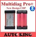 10 unids/lote + DHL LIBERA la NAVE como TCS CDP Favorable Con El Bluetooth función Multidiag Pro + para Los Coches Y Camiones OBD2 HERRAMIENTA de ANÁLISIS multi-diag