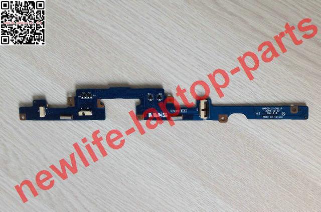 Originales piezas del ordenador portátil para dell m11x luz led incicator junta ls-5811p prueba de buen envío libre
