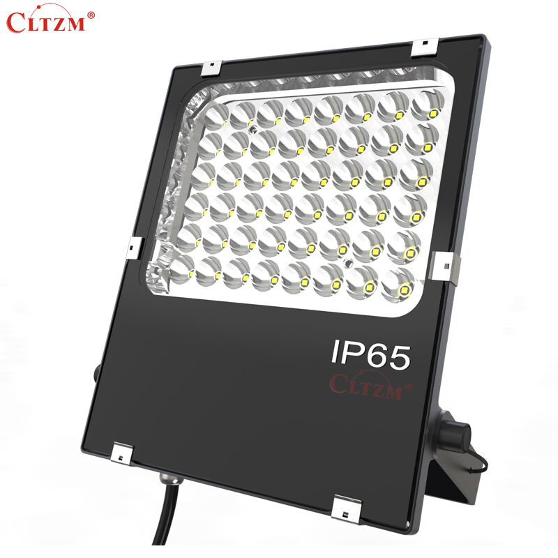 CLTZM LED Flood Light 50W IP65 Projection Outdoor Waterproof Outdoor Advertising Search Light Factory Courtyard Lingt 80w led flood lights ip65 outdoor led flood light advertising led light