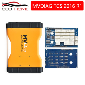 OBD2 2016.R0 newest Pro mvdiag V3.0 PCB with bluetooth Multi Vehicle Diag Diagnostic Tool for CARS/Trucks/Generics set cables(China)