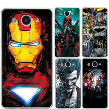 For Huawei Y3 2017 Phone Case Cover Charming Marvel Avengers Iron man Soft Silicone Funda Capa For Huawei Y3 2017 5.0″ Y3 2017