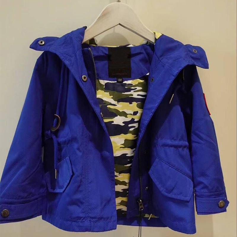 цена на Children Hooded Jackets For Kids Coat Boys Outerwear Baby Jacket Windbreaker Children's Clothing