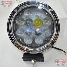 7 INCH car ATV off road 60W CREE LED WORK LIGHT bar 12V offroad 4X4 FLOOD SPOT for trucks  UTE replace HID DRIVING lamp 24V