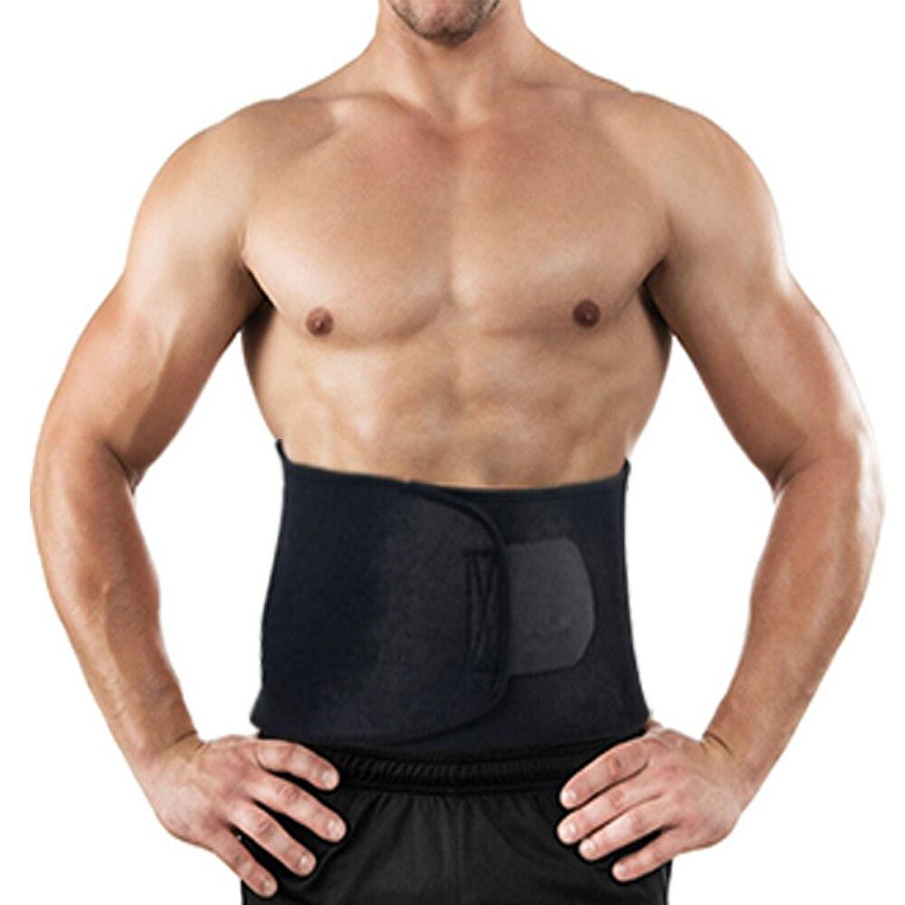 Adjustable Waist Trimmer Exercise Sweat Belt Fat Burner Shaper Slimming Lose Weight Body Burn Cellulite Corset Men Body Shaper