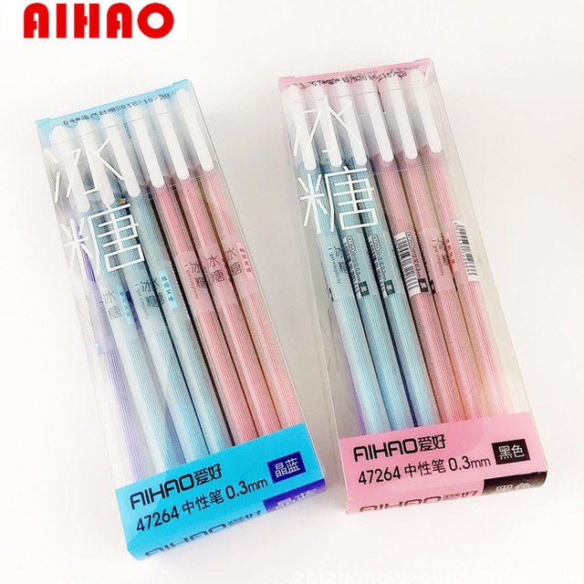 New Arrival Pen Gel Ink Brand Korean Stationery Candy ...