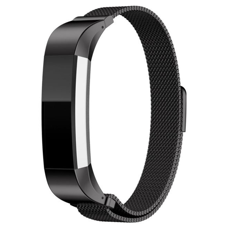 High Quality Watch band strap Replacement Milanese Magnetic Loop Stainless Steel Customized Band For Fitbit Alta Smart Watch стоимость