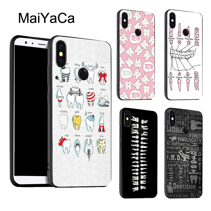 Teeth Doctor Dentist Phone Case Soft Silicone Case For Redmi Note 4 Phone Cases For Xiaomi Redmi Note 5 Plus 4x 6 Cover Fitted Cases Cellphones & Telecommunications