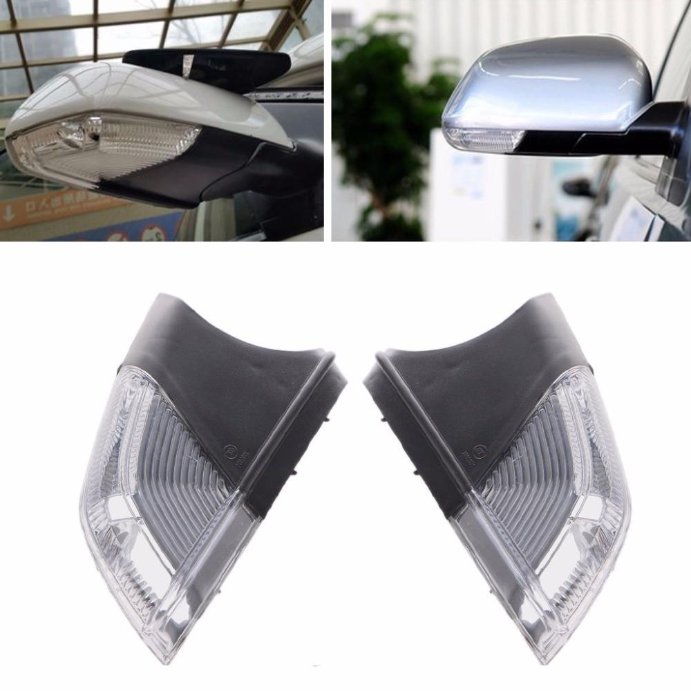 HNGCHOIGE New Left/Right Swing Car LED Mirror Indicator Turn Signal Light For Polo Skoda Octavia Amber Light 3000K car light left