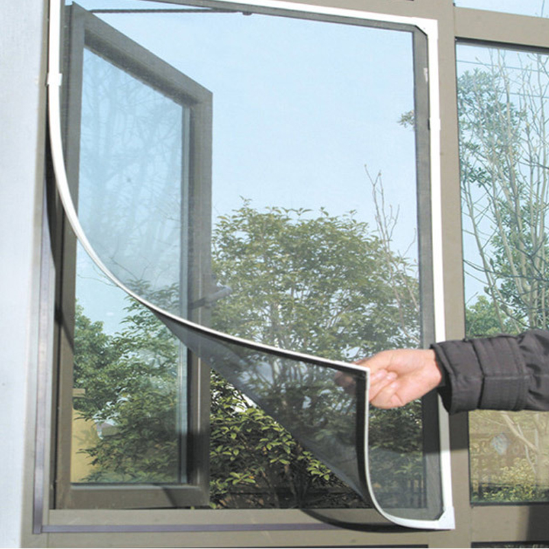 2019 New Indoor Insect Fly Screen Curtain Mesh Bug Mosquito Netting Door Window Anti Mosquito Net For Kitchen Window