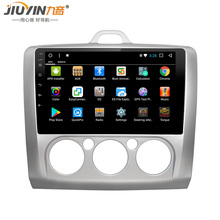JIUYIN Android 8.1 Car DVD Multimedia Player GPS For ford focus 2 3 2006 2007 2008 2009 2010 2011 audio car radio jdaston android 6 0 2 din car radio for ford fiesta 2008 2009 2010 2011 2012 2013 2014 2015 car multimedia gps video dvd player