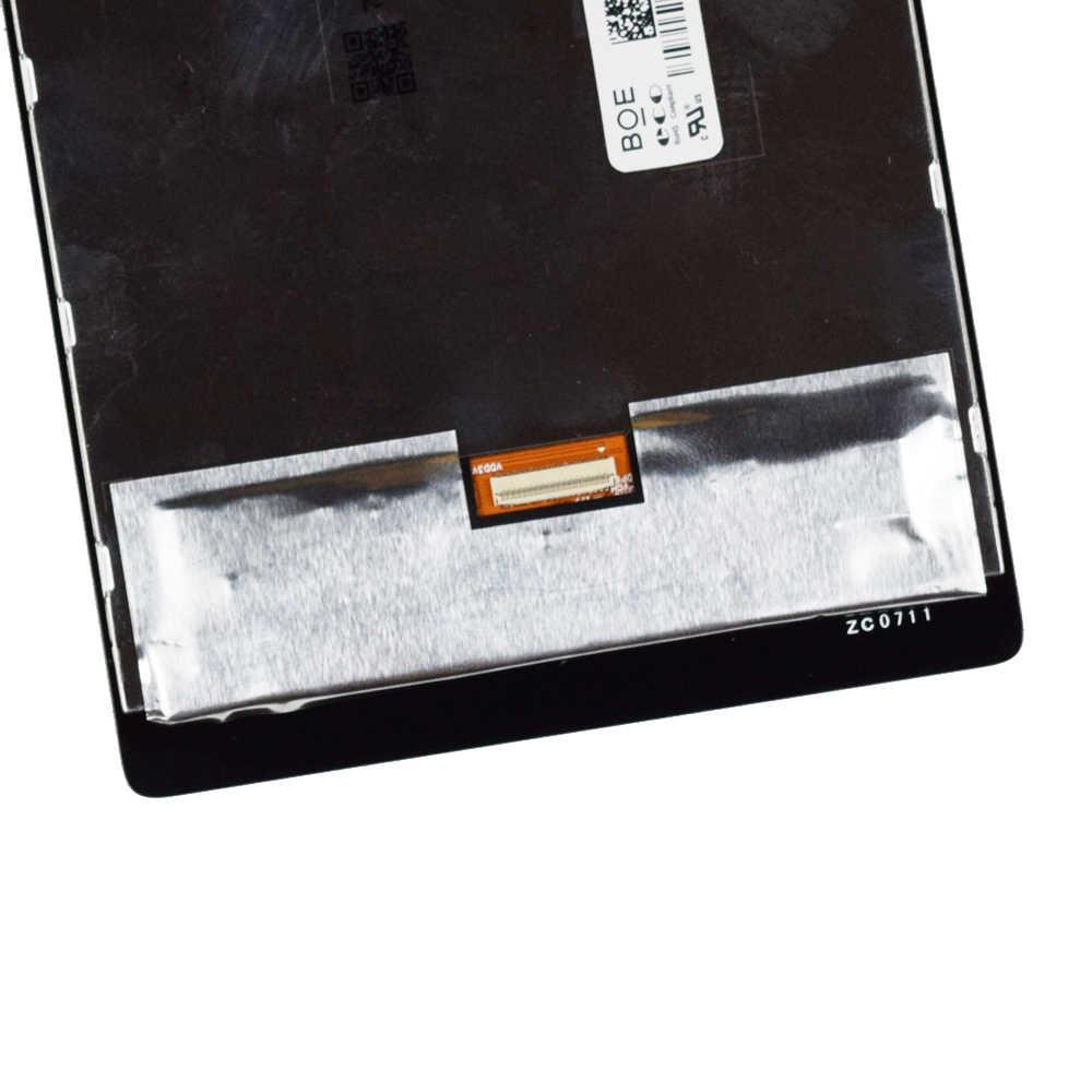 """جديد 7 """"لينوفو IdeaTab 4 TB-7304X LCD Tab 4 TB-7304F 7304 7304X 7304F TB-7304i عرض و مجموعة المحولات الرقمية لشاشة تعمل بلمس"""