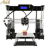 Anet A8 Two Color 3d Printer 2019 Factory Price Reprap Prusa i3 Cheap 3d Printing Machine Dual Nozzle Dual Extruder 22*22*24CM